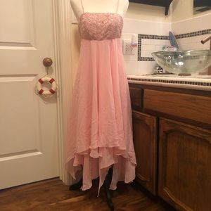 Pink Long Prom Dress